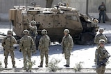 NATO soldiers in Afghanistan