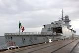 FREMM-class frigate