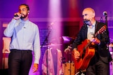 Ziggy Ramo & Paul Kelly performing 'Little Things' live on ABC TV's The Set