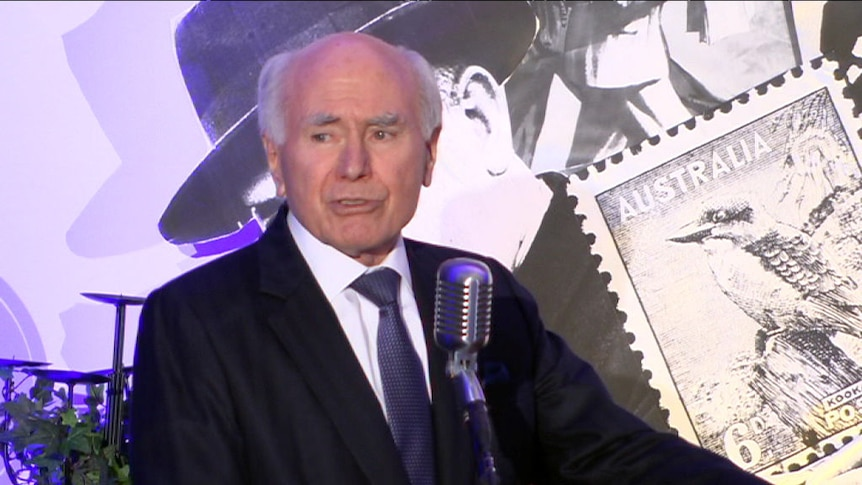 John Howard praises the Liberal Party's 'broad church'