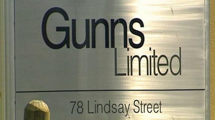 Gunns sign