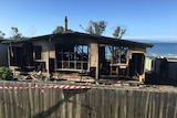 The shack on Primrose Road was destroyed in a suspected arson attack May 15, 2015