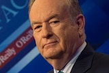 Fox News host Bill O'Reilly poses in a television studio in March 2015.