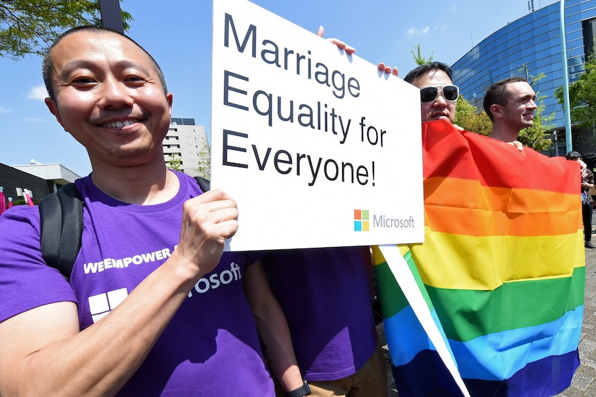 LGBT march through Tokyo amid calls for same-sex marriage