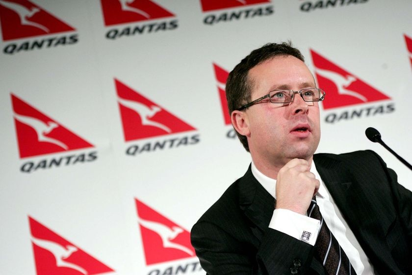 Qantas chief executive Alan Joyce (AAP: Sergio Dionisio)