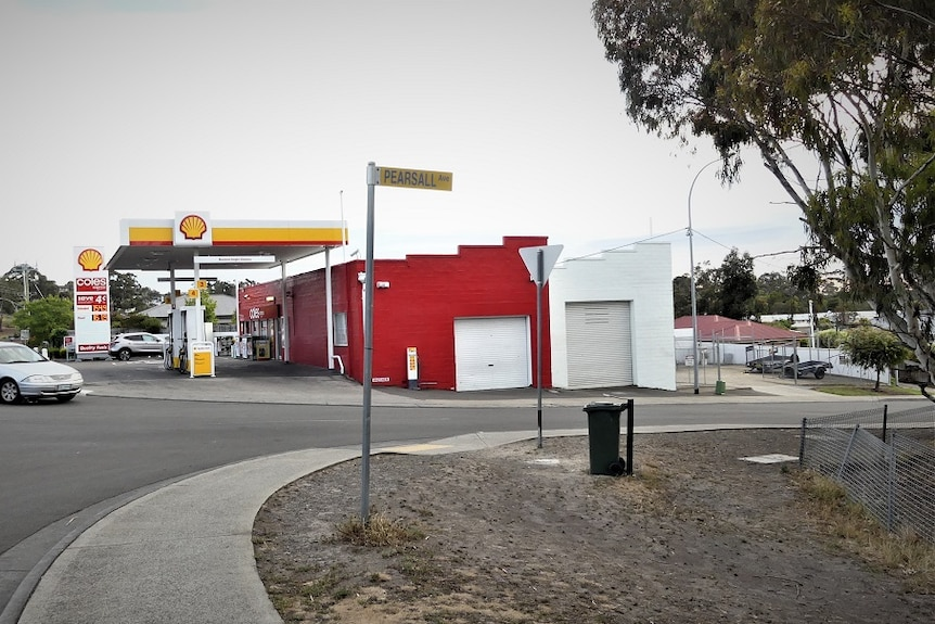 Coles service station in Blackmans Bay.