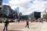 Federation Square attracts some 10 million visitors a year