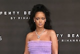 Rihanna at 2017 London Fashion Week