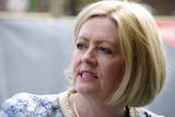 Close-up outdoor shot of Perth Lord Mayor Lisa Scaffidi