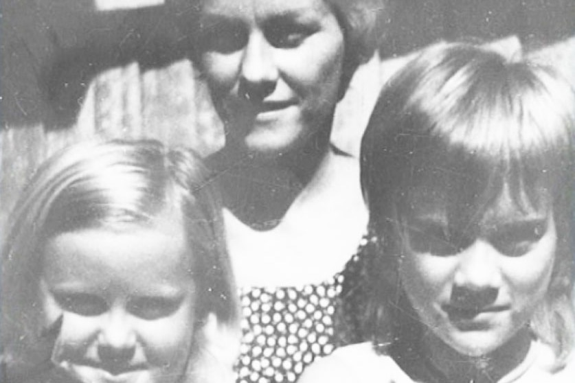 Family photo of suspected murder victims Barbara McCulkin (centre) and her two daughters, Leanne (L) and Vicki (R)