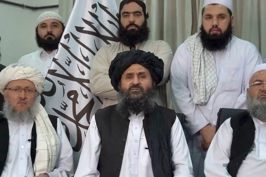 Taliban leaders in a video message.