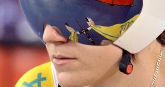 Australian cyclist Anna Meares