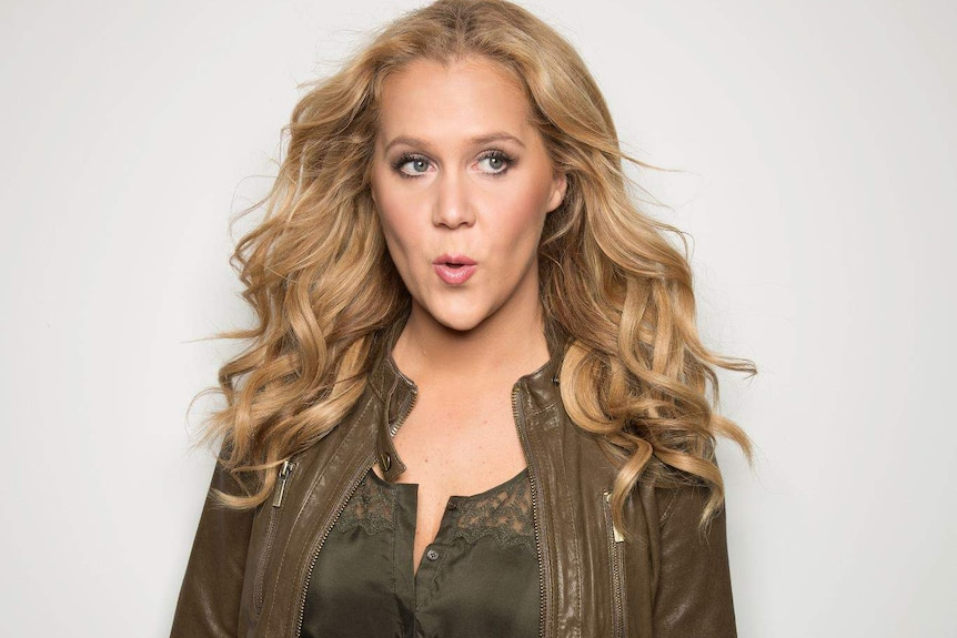Comedian and author Amy Schumer.
