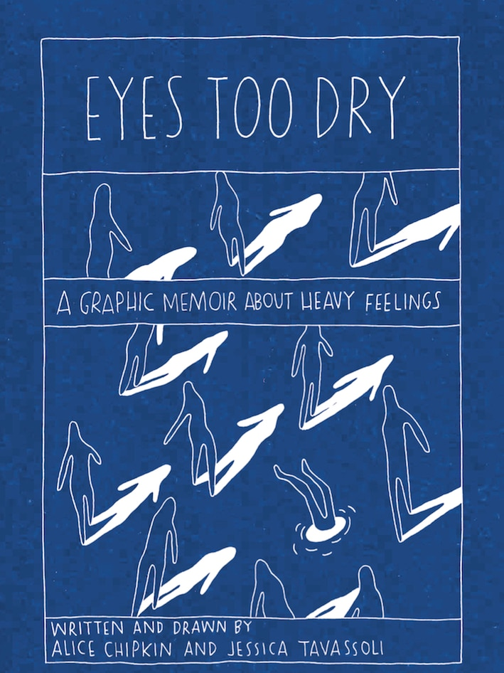 Book cover of Eyes Too Dry by Alice Chipkin and Jessica Tavassoli
