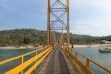 Yellow Bridge in Bali prior to collapse