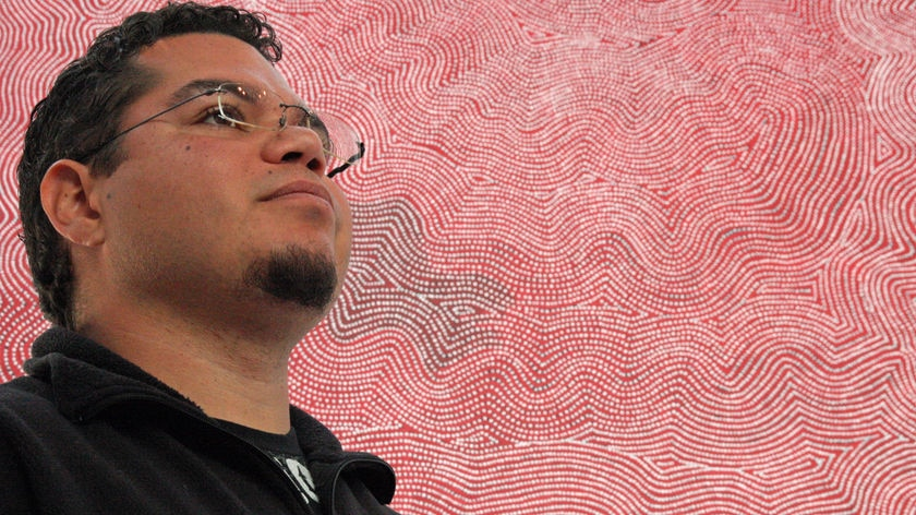 Indigenous artist Damien Armstrong