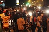 People protest in Burkina Faso