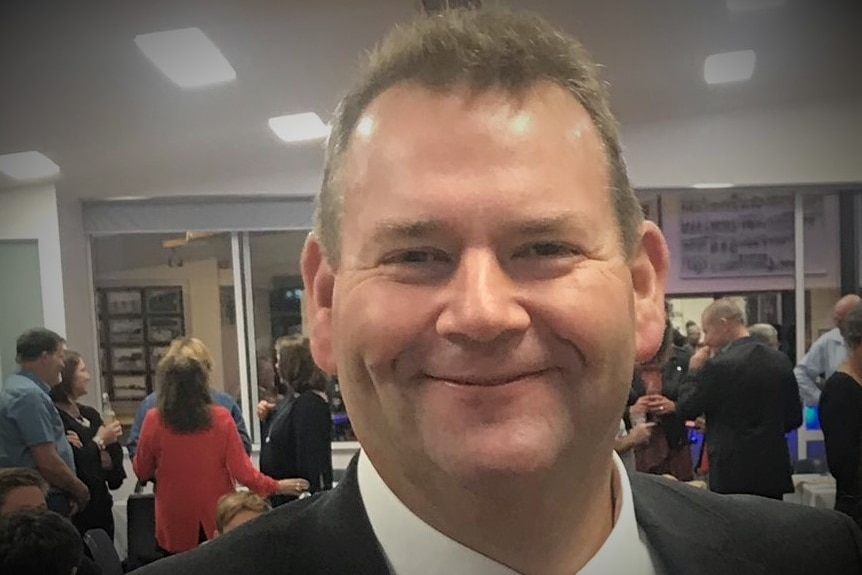 Tasmanian Liberal politician Adam Brooks.