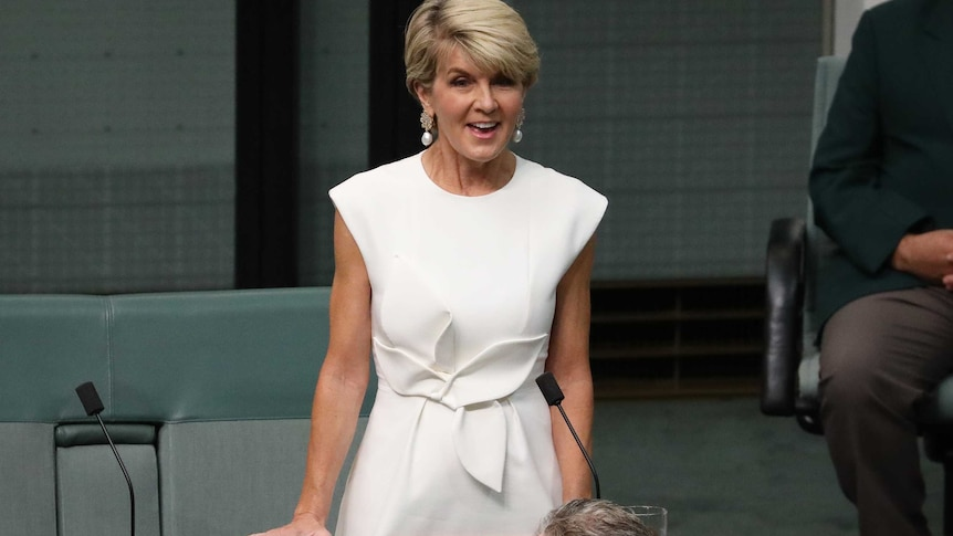 Former foreign minister Julie Bishop will not contest the upcoming federal election.