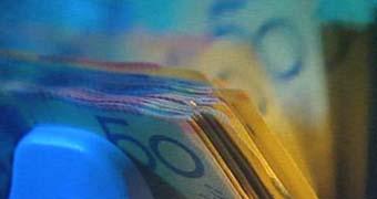 Pile of Australian notes