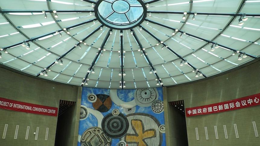 The Port Moresby International Convention Centre.