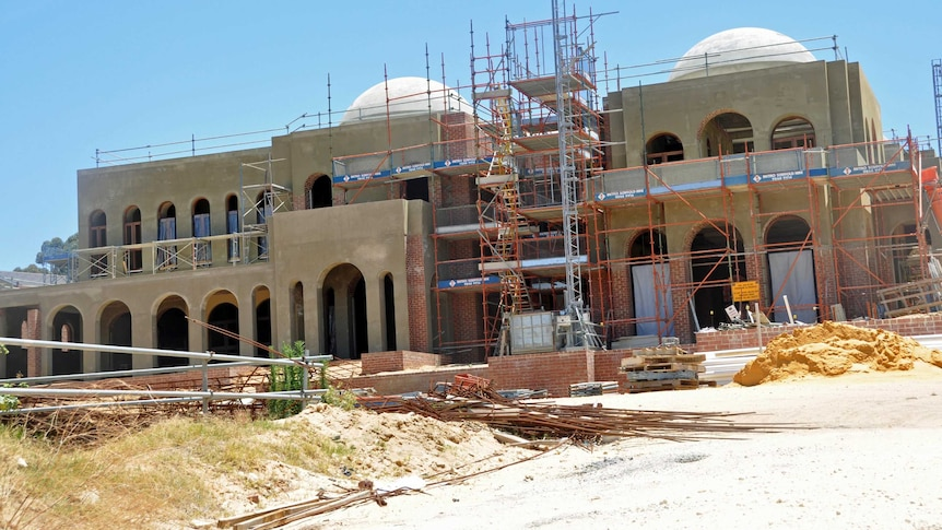 The owners had plans for seven domes, multiple bedrooms and parking for more than a dozen cars.