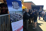 Sign Rally for the Valley