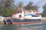 The ferry that sunk off the coast of Kiribati