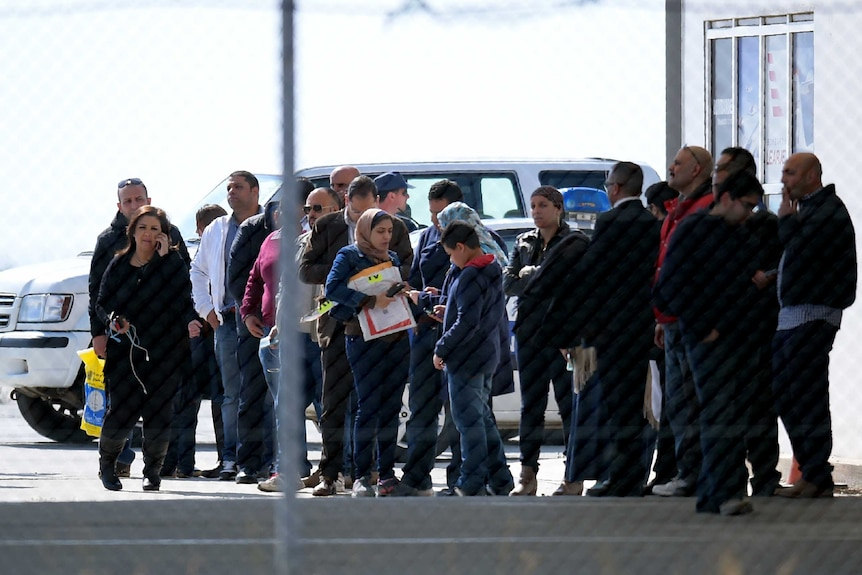 Passengers of the hijacked EgyptAir Airbus A-320