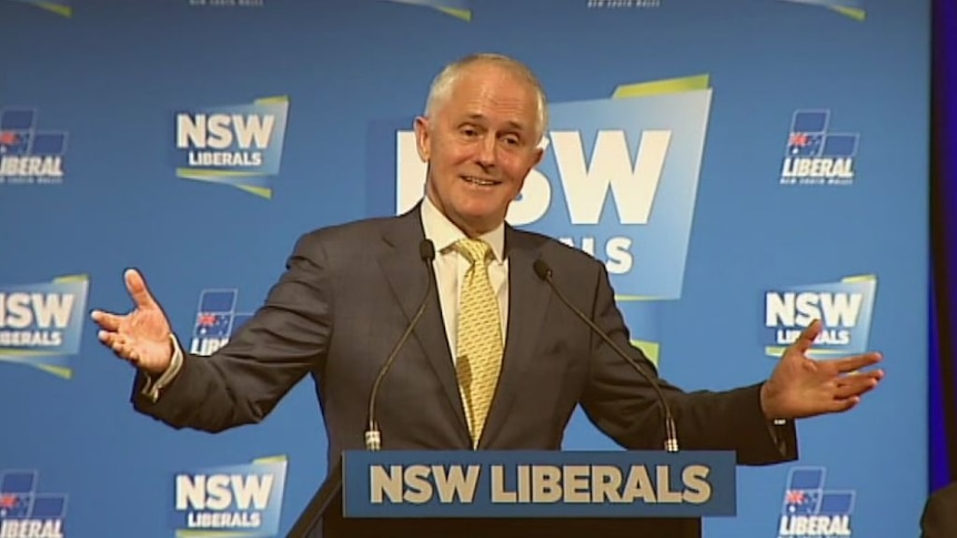 'We are not run by factions': Malcolm Turnbull