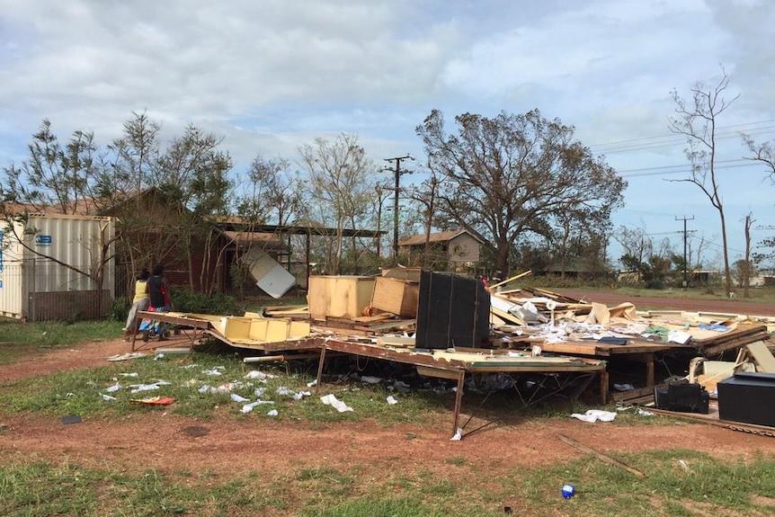 House destroyed in Galiwin'ku