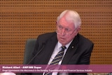 AMP Super chair Rick Allert gives evidence to the banking royal commission.