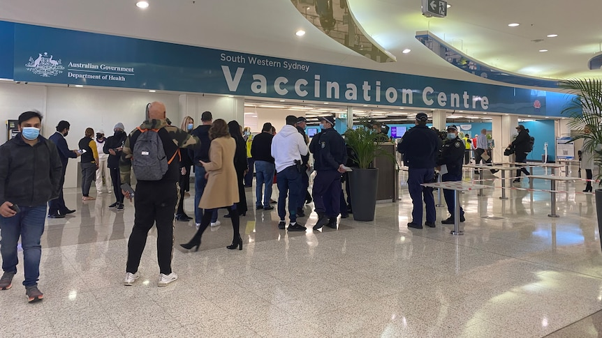 New vaccination hub in south-west Sydney