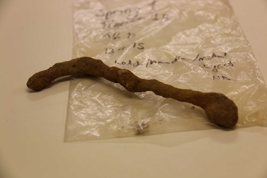Possible atch handle found on Springbank Island