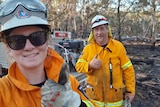 Firefighters from Perth.