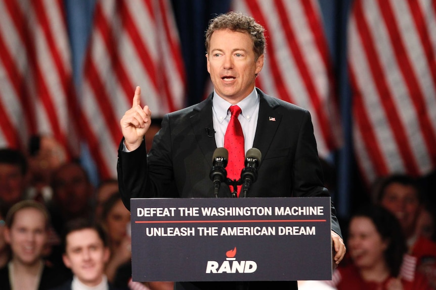 Senator Rand Paul has been at the centre of the most recent stoush over the Patriot Act.