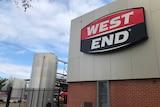 West End sign.