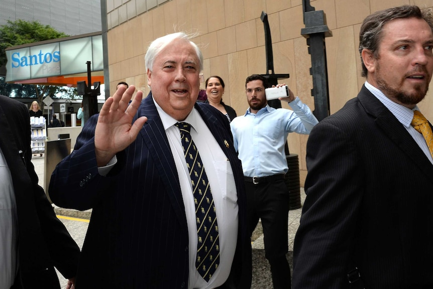 Clive Palmer hopes to sell Mineralogy House in Brisbane.