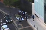 Aftermath of shooting at Parramatta
