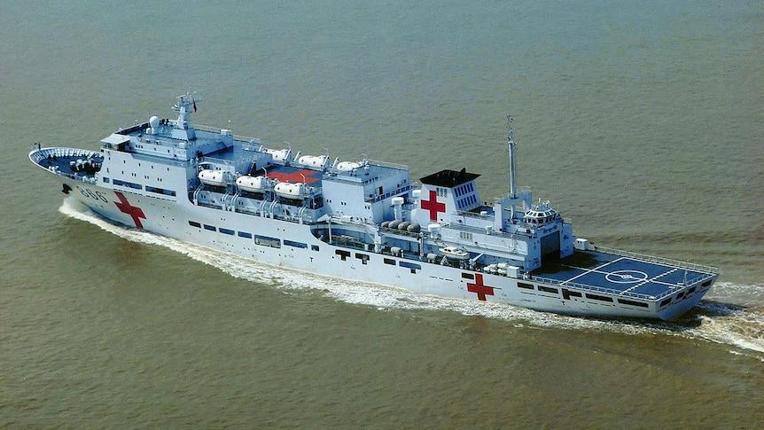 China's 'Peace Ark' hospital ship