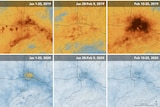 NASA and the European Space Agency's pollution monitoring satellites show air pollution drop in Wuhan, China