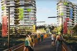 A residential plan of buildings for an Olympic village at Robina