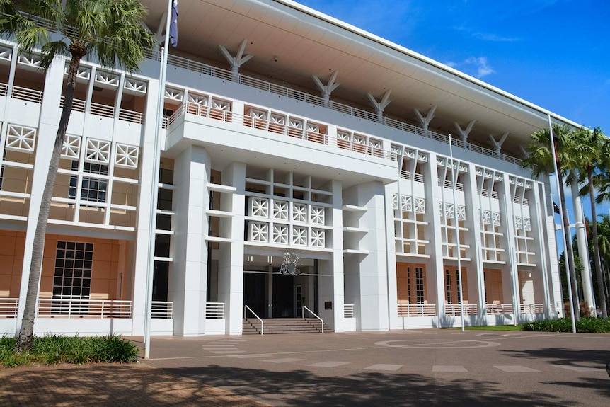 The Northern Territory's Parliament House in Darwin.