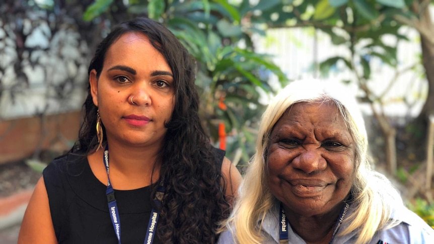 Interpreters Ainsley O'Connor and Martina Badal are starting work in hospitals in the Kimberley for a trial.