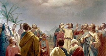 The Ascension, Andreas Herman Hunaeus 1814-66.