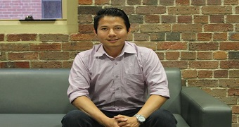 International student from Vietnam Hoang Xuan Doan.