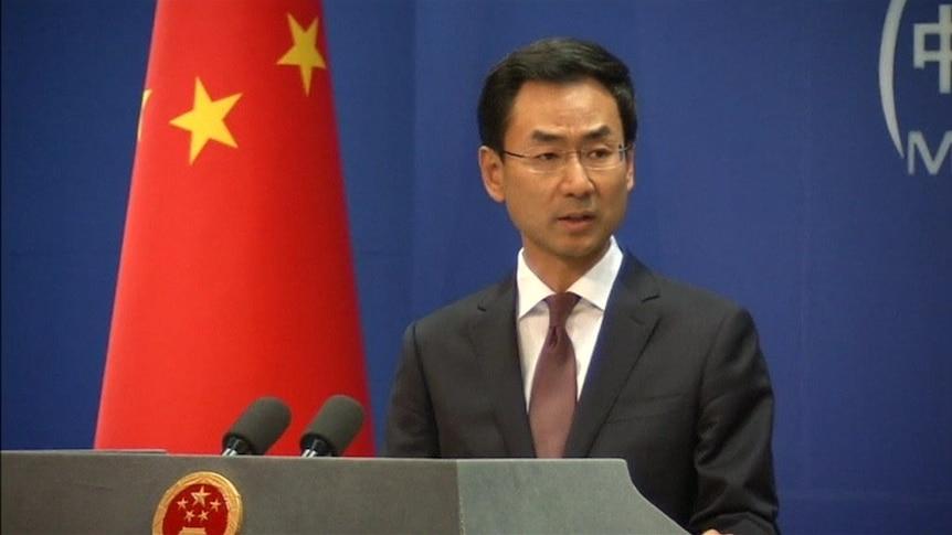 """中国外交部新闻发言人要求加拿大""""立即释放""""华为首席财务官孟晚舟"""