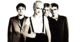 Dolores O'Riordan from The Cranberries.