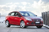 Image of a Ford Focus, which is one of the models fitted with the faulty gear box.