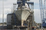Air Warfare Destroyer under constuction